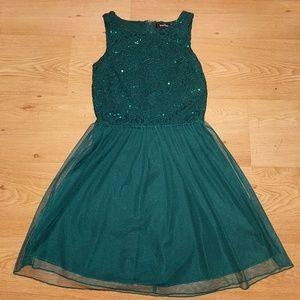 Speechless Emerald Dress